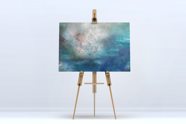 05 Picture Art Easel Mock-Up