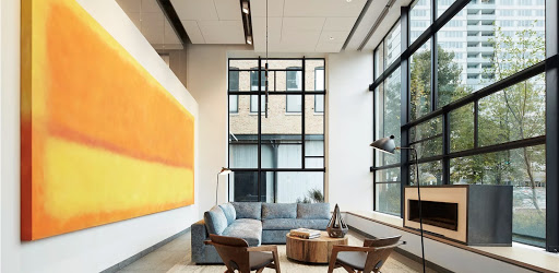 EMME: A look inside Emme apartments: A modern building that respects its historic site